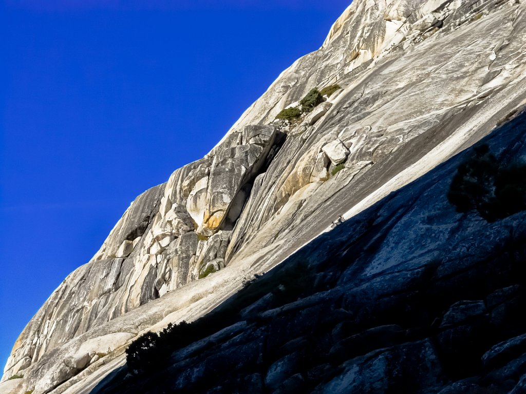 Morning Shadow on Polly Dome, Yosemite
